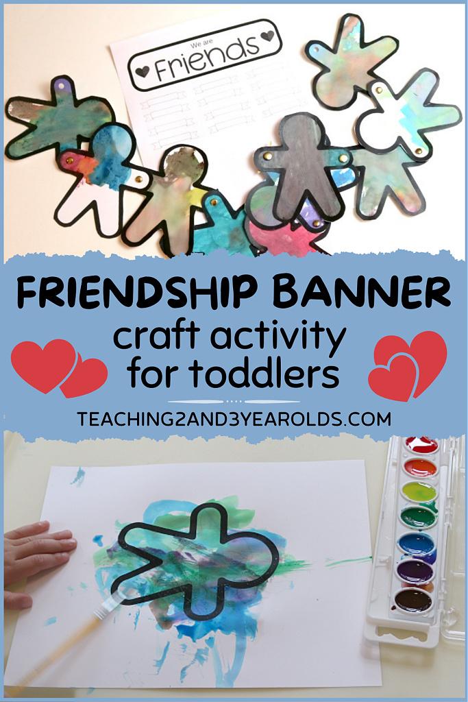 toddler friendship activity