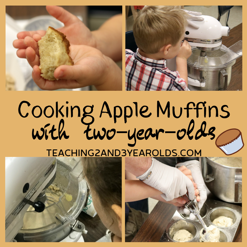 How to Make Easy Apple Muffins with Toddlers