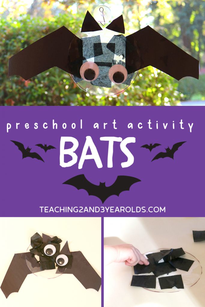 How to Make a Bat Craft with Preschoolers