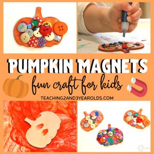 How to Create a Pumpkin Craft that is a Keepsake Magnet