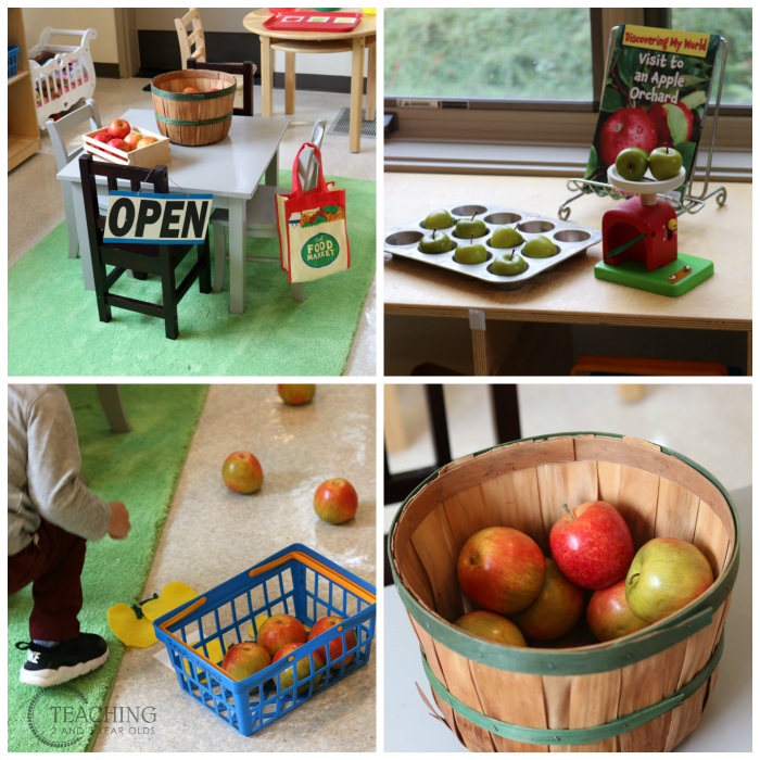 Putting Together the Toddler and Preschool Apple Theme in the Classroom