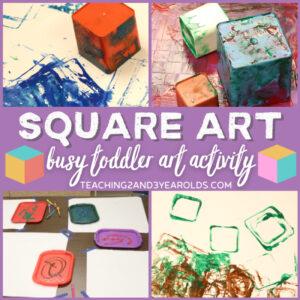 square shape art
