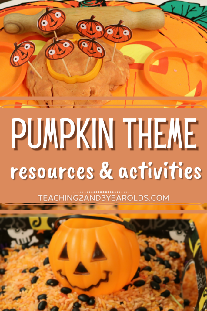 Creating a Classroom Pumpkin Theme Curriculum for Toddlers and Preschoolers