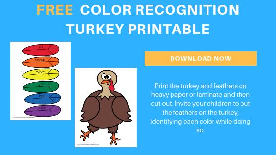 Free Thanksgiving Turkey Printable