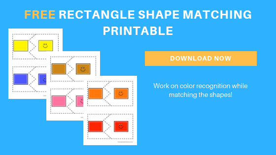 Free Preschool Rectangle Matching Printable