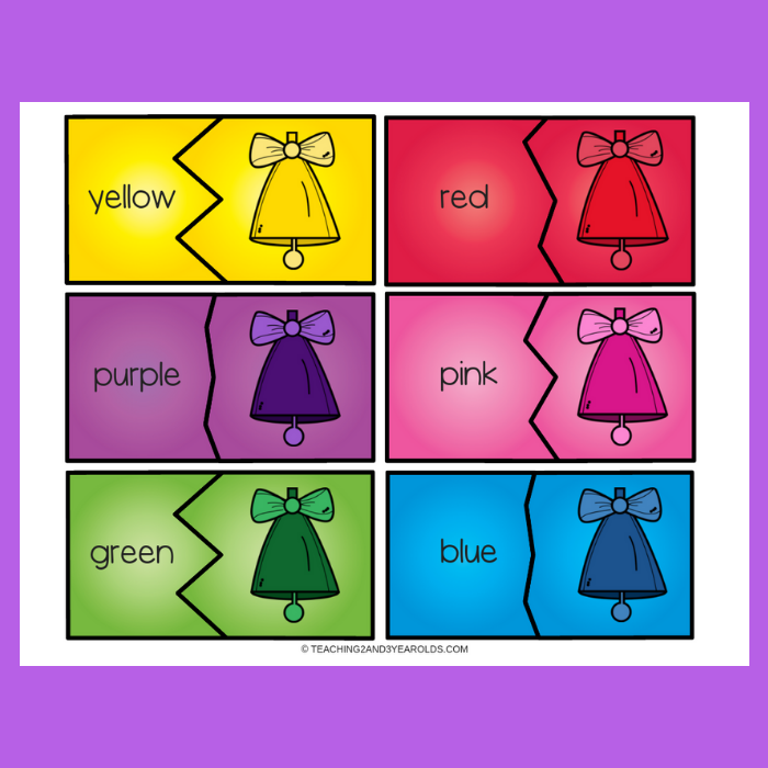 image about Printable Cards to Color titled Bells Shade Matching Printable Playing cards