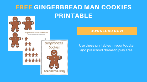 free toddler preschool gingerbread cookies printable for dramatic play