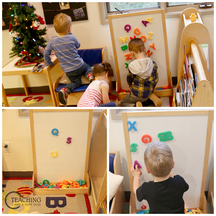 Setting Up the Jingle Bell Theme for Toddlers and Preschoolers
