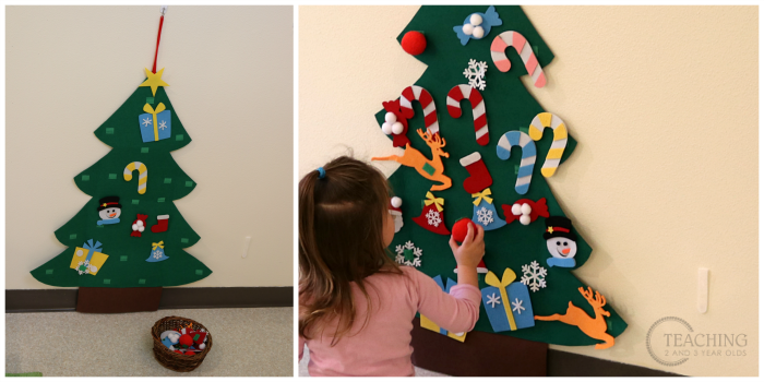 The jingle bell theme is the perfect opportunity to add extra music and movement to the toddler and preschool classroom, as well as magnetic activities. Check out all the fun activities we did!