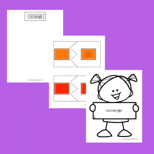 Free Rectangle Printable for Toddlers and Preschoolers