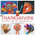 25+ Thanksgiving Craft Ideas for Preschoolers