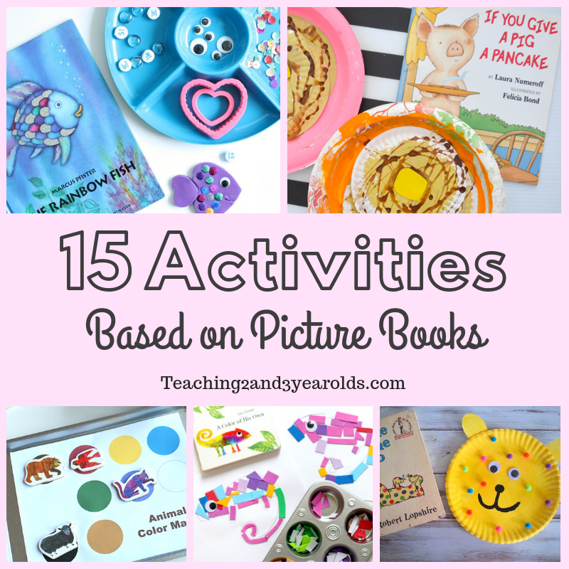 15 Picture Book Activities That Preschoolers Love
