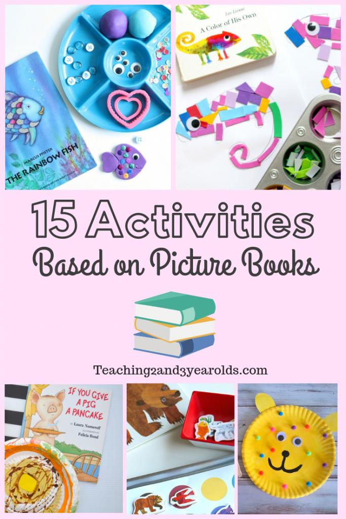 15 Picture Book Activities that Preschoolers Love