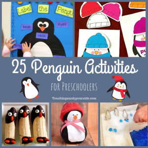 25 Preschool Penguin Activities that are Fun! (Free Printables)