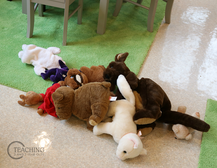 Stuff 'n Sit Stuffed Animal Storage Bean Bag Pouf