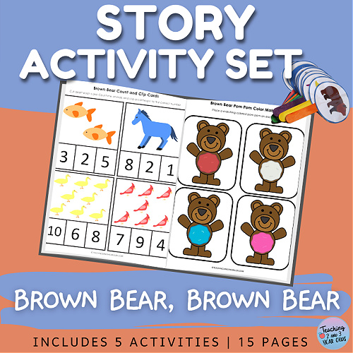 Brown Bear, Brown Bear Printable Pack