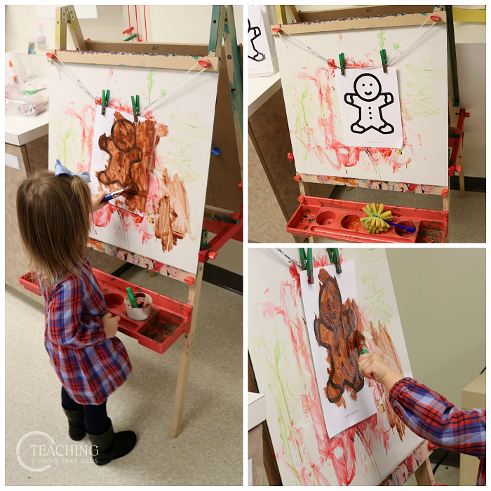 How to Put Together a Toddler and Preschool Gingerbread Theme