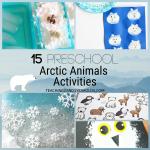 15 preschool arctic animals activities