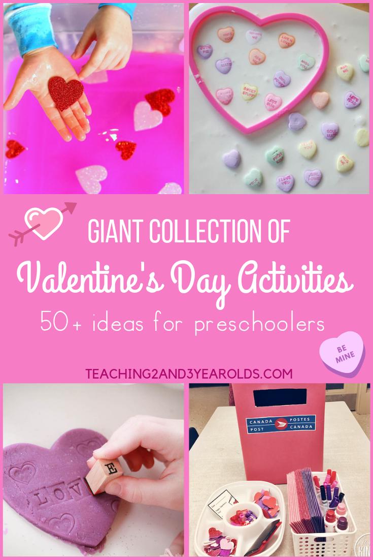 preschool Valentine's Day activities
