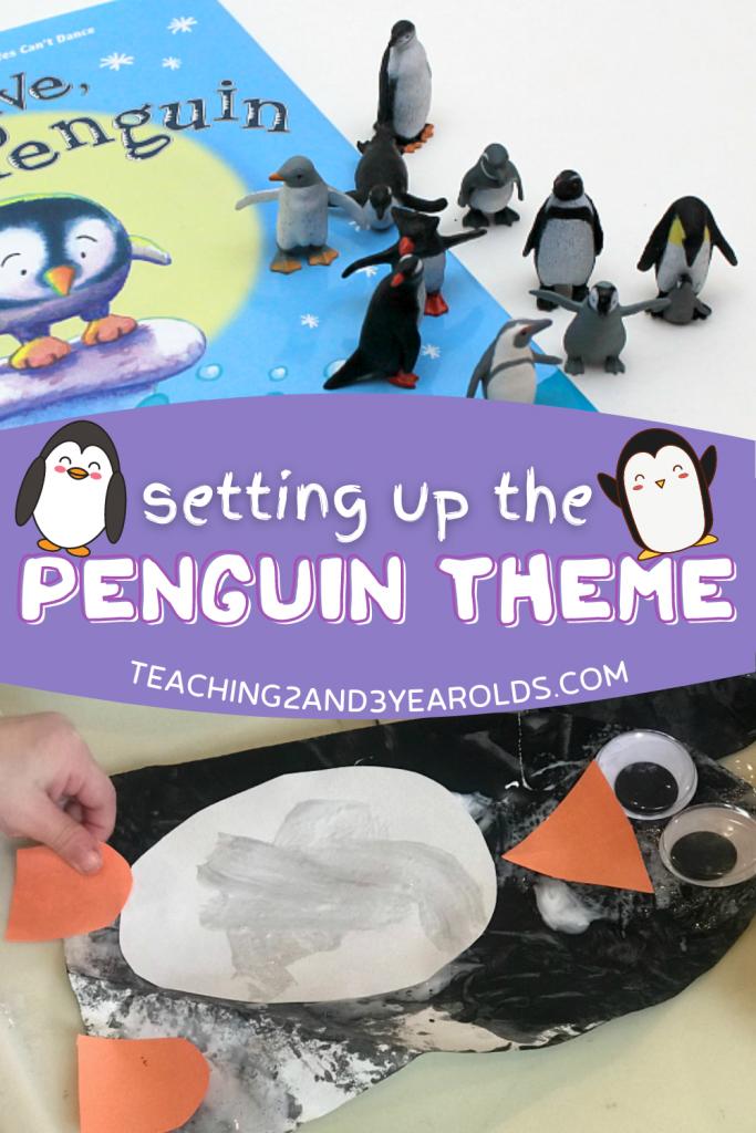 Toddler and Preschool Penguin Theme Ideas