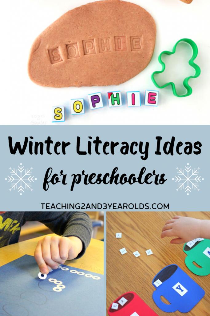 17 Fun Winter Literacy Activities for Preschoolers