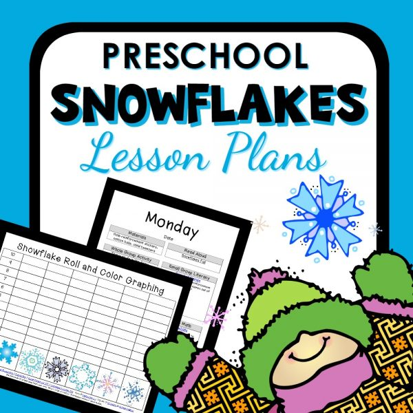 preschool snowflake lesson plans