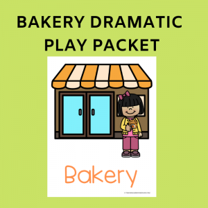 Free Bakery Packet for Dramatic Play