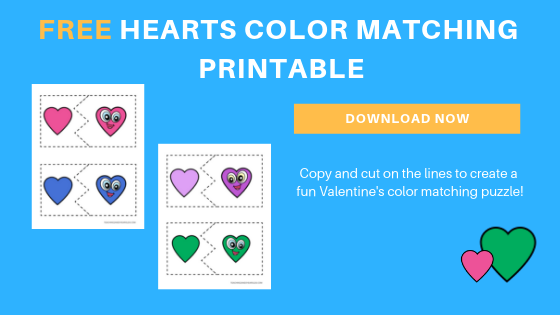 free toddler preschool Valentine's Printable