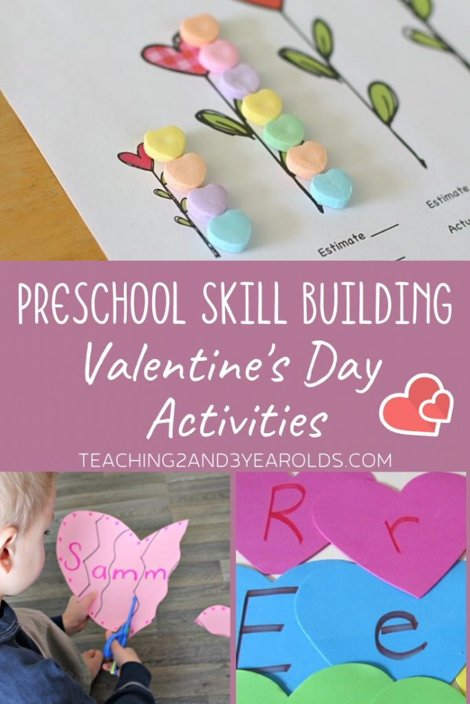 17 Skill Building Preschool Valentine's Activities