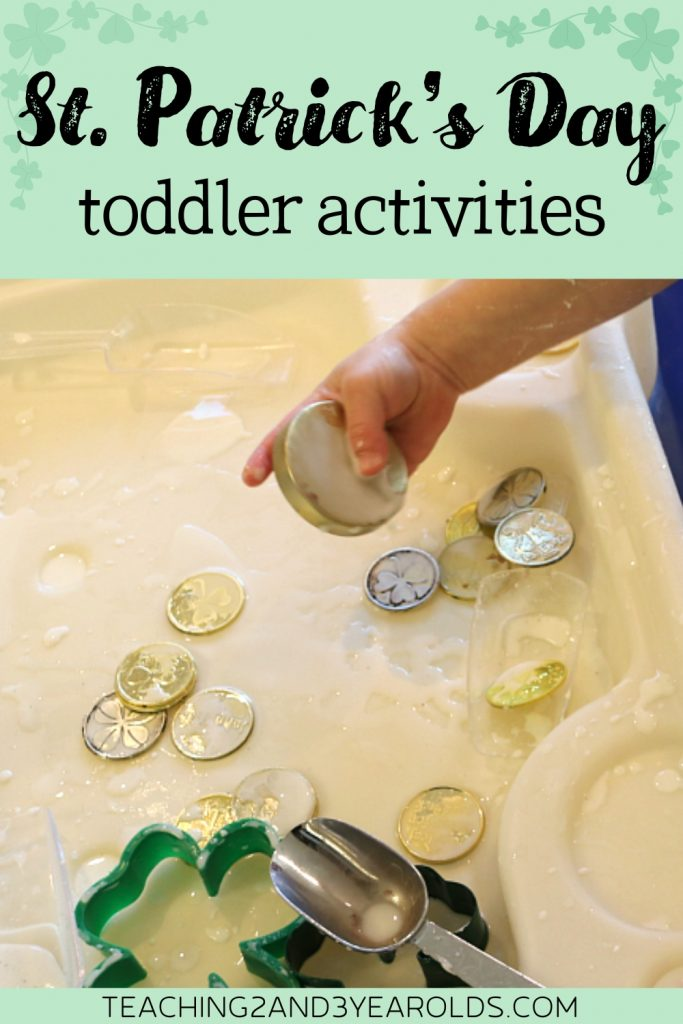 20+ Toddler St. Patrick's Day Activities