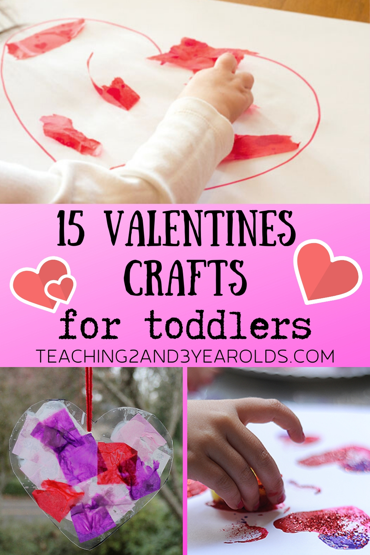 15 Of The Best Toddler Valentine Crafts