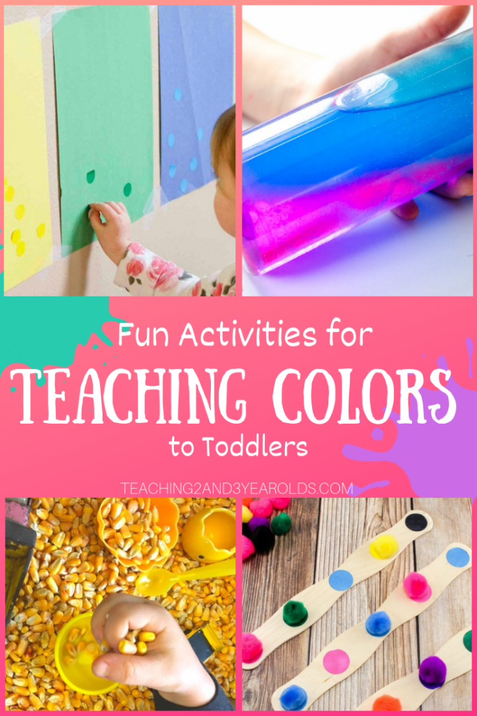 How To Teach A Toddler Colors With 20 Fun Activities