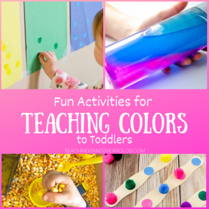 How to Teach Toddlers Colors with Fun Activities