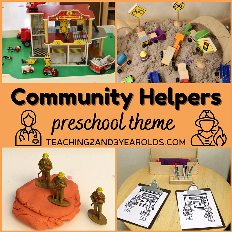 community helpers theme