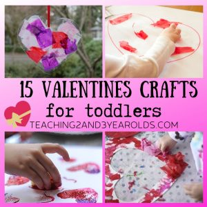 15 of the Best Toddler Valentine Crafts