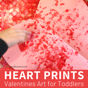 Super Easy Toddler Valentines Prints