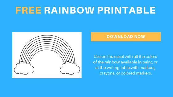 Free Preschool Rainbow Printable