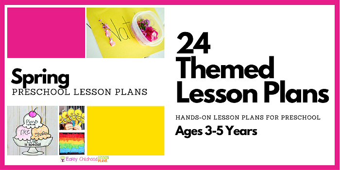 preschool lesson plans spring