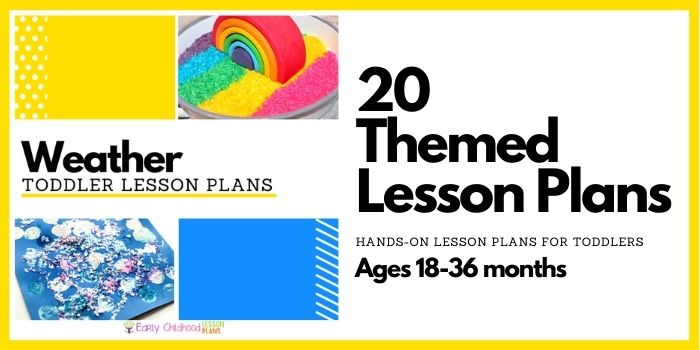 toddler lesson plans weather