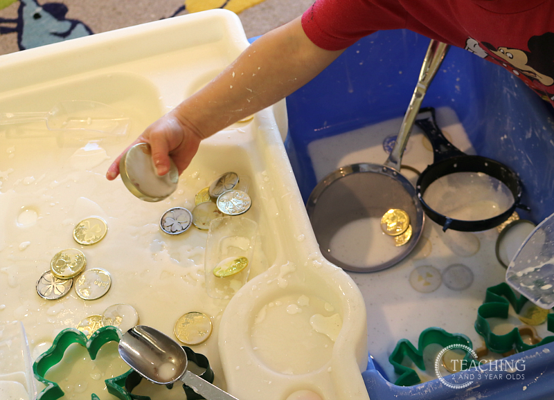 Find the Gold Coins Sensory Activities