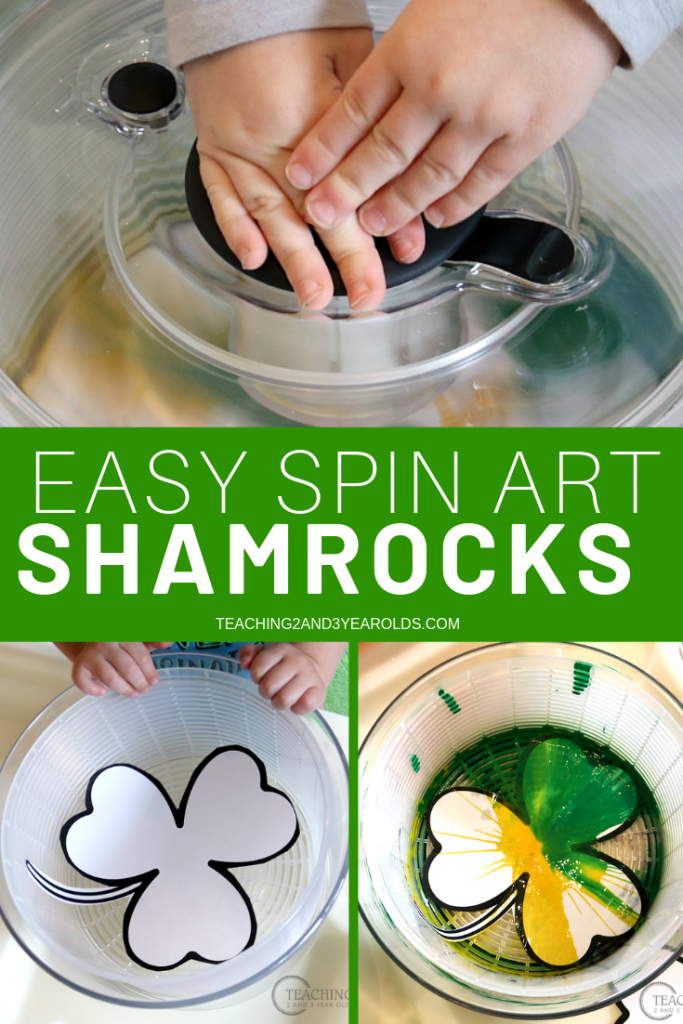 Shamrock Color Mixing Activity