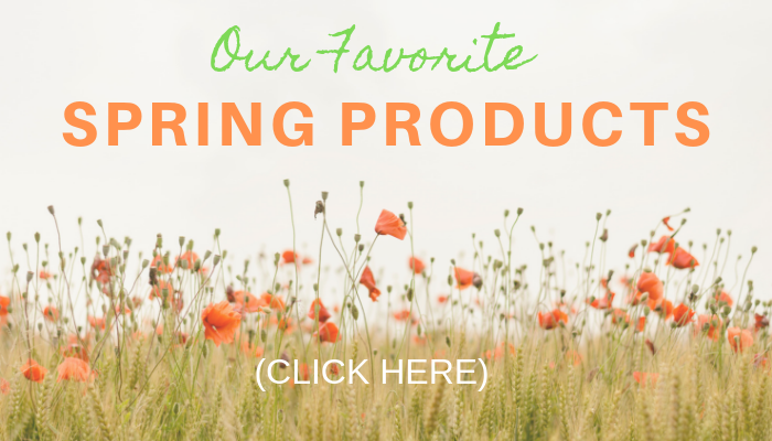 favorite toddler and preschool spring products