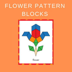 Free Spring Flower Pattern Blocks Printables