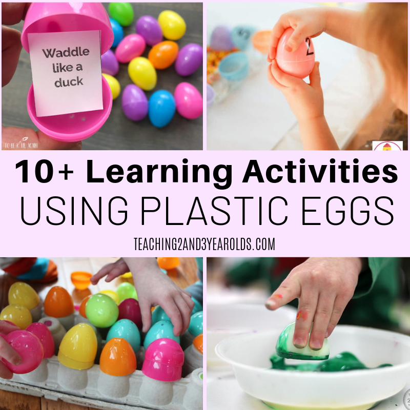 10+ Easter Ideas Using Plastic Eggs