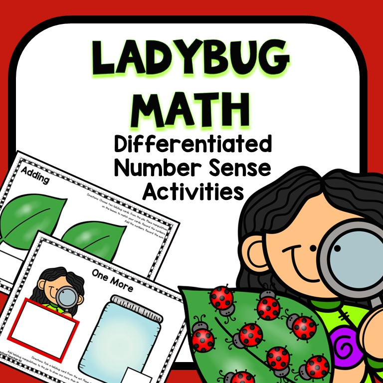 preschool ladybug math activities