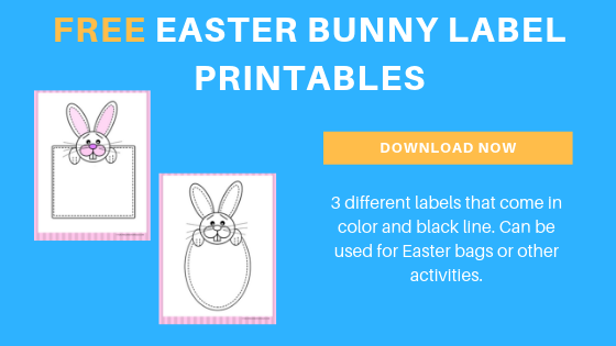 free Easter bunny labels