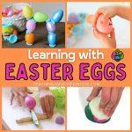 Easter Ideas Using Plastic Eggs