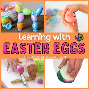 Easter Ideas Using Plastic Eggs