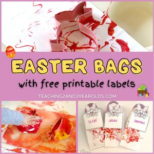 toddler Easter bags