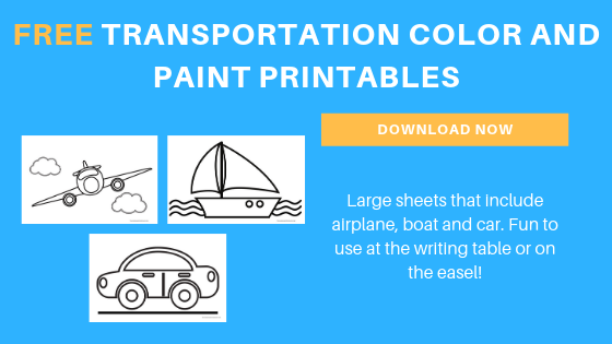 free toddler preschool transportation coloring pages